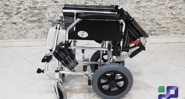 ویلچر سبک مسافرتی آلومینیومی (4)