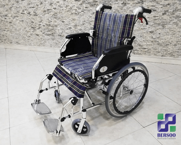 ویلچر سبک مسافرتی آلومینیومی (8)